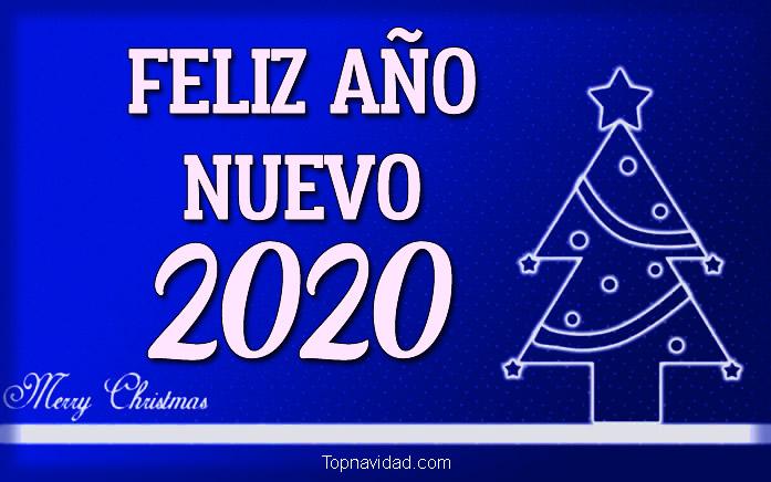 Postales de Feliz Año Nuevo 2020 para Compartir