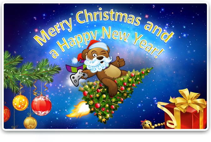 Postales de Navidad y Año Nuevo para compartir