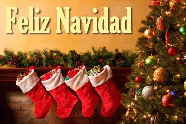 Postales de botas de navidad