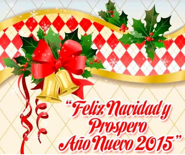 Postales de feliz navidad y prospero año nuevo 2015