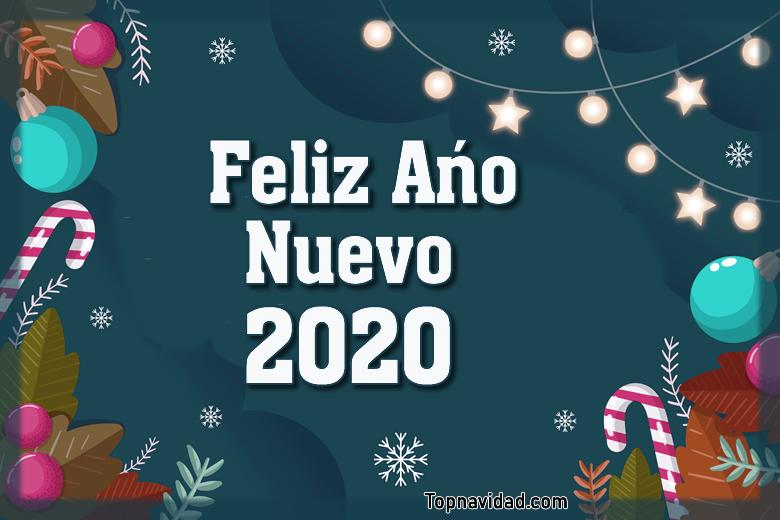 Postales para Felicitar Año Nuevo 2020