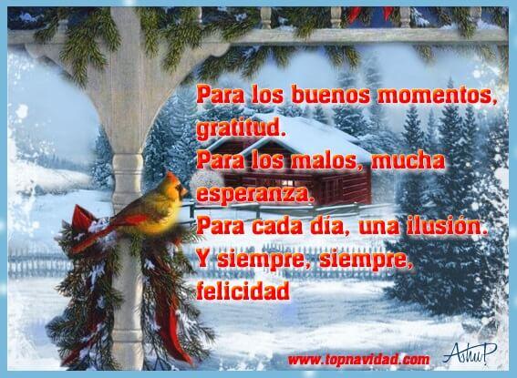 Postales y Frases de Navidad con Bonitas Imágenes Gratis