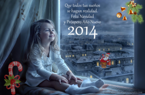 Postales y Tarjetas de Año Nuevo 2014 para Compartir