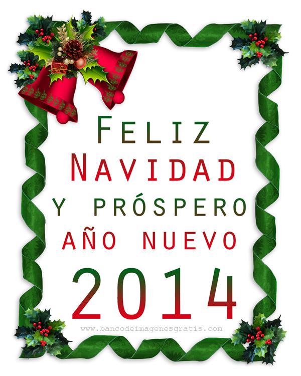Tarjetas Bonitas de Feliz Navidad y Prospero Año Nuevo 2014