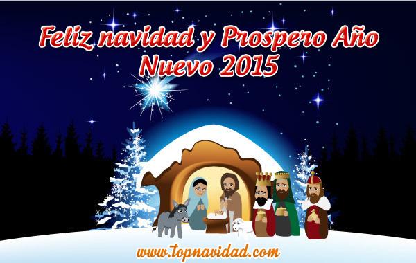 Tarjetas Feliz Navidad y Prospero Año Nuevo 2015