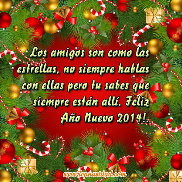 Tarjetas Postales de Año Nuevo 2014 para Facebook - Frases de ...