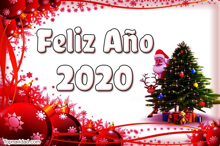 Tarjetas Postales de Feliz Año Nuevo 2020