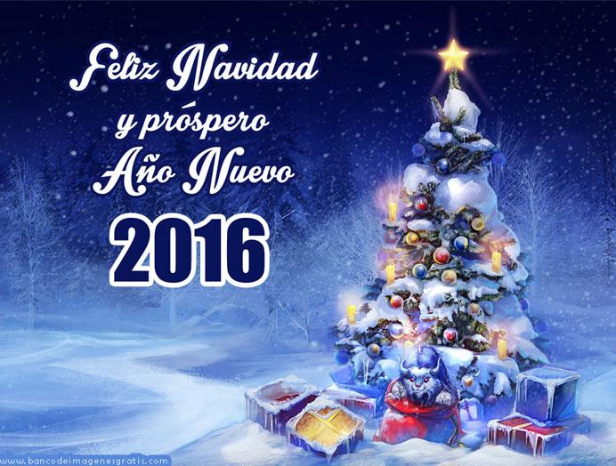 Tarjetas Postales para felicitar el año nuevo 2016