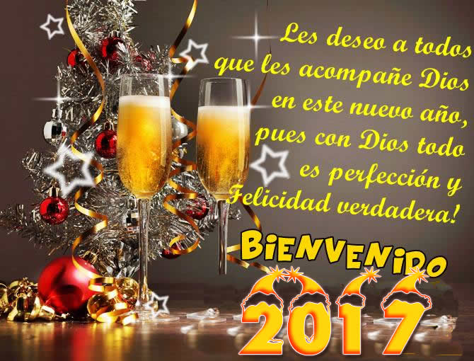 tarjetas con frases de año nuevo 2017
