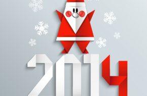 Tarjetas de Año Nuevo 2014 para Felicitar