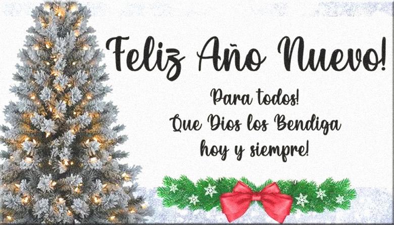Tarjetas de Feliz Año Nuevo para Felicitar en Facebook