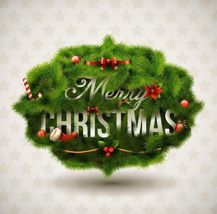 Tarjetas de Navidad con Frases en Ingles para Compartir