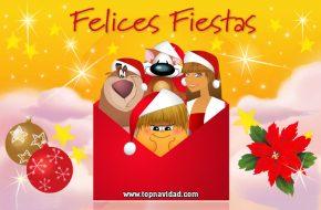 Tarjetas de Navidad para Facebook