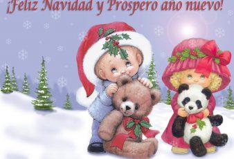 Tarjetas de postales de navidad