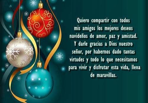 Tarjetas postales de navidad para en redes sociales - Mensajes bonitos de navidad y ano nuevo ...