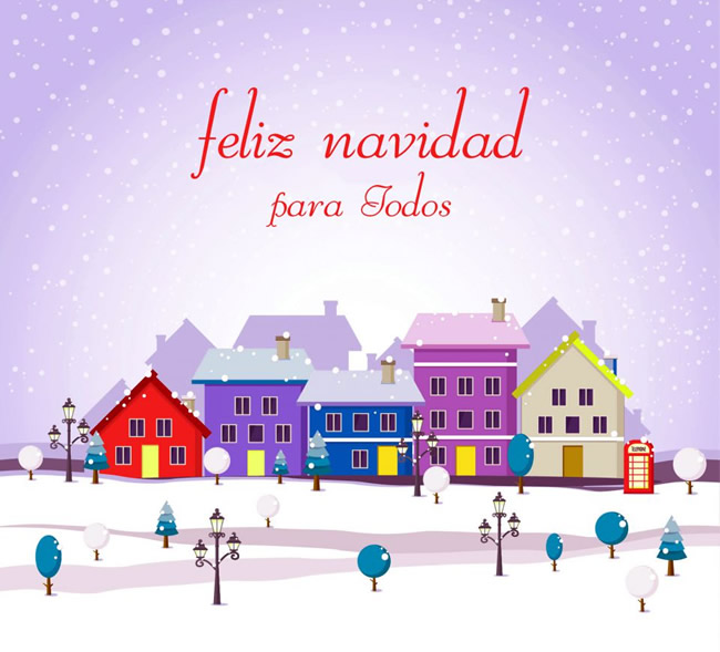 Tarjetas virtuales de Feliz Navidad gratis