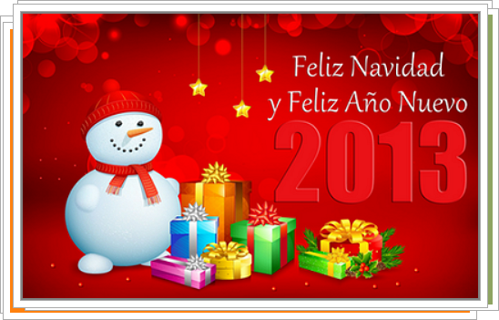 Tarjetas y Postales de Navidad 2013
