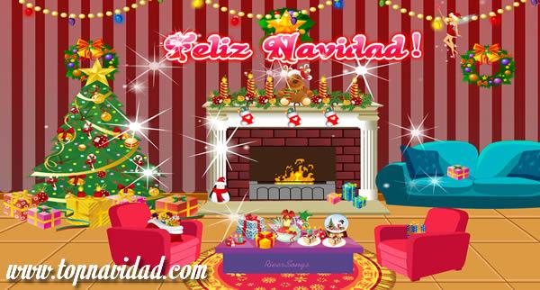 Tarjetas y Postales de Navidad para Facebook
