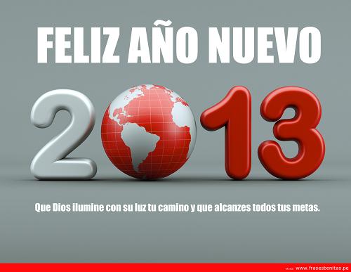 Tarjetas para Felicitar en Año nuevo 2013