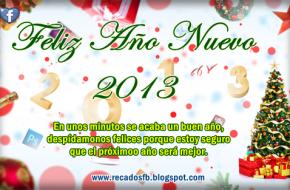 feliz año nuevo 2013 para facebook