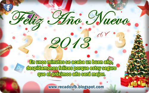 Tarjetas de Año nuevo 2013 para Compartir