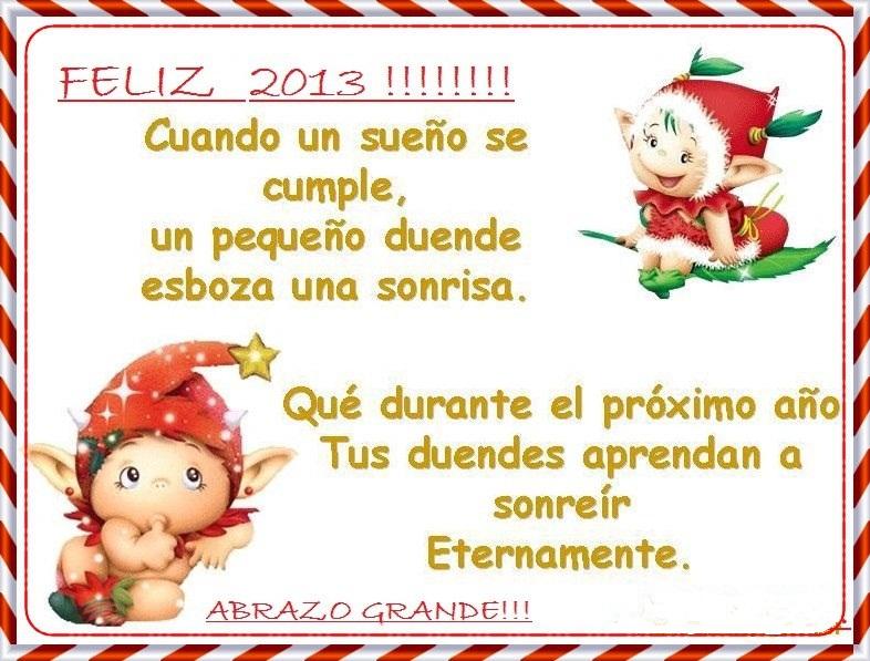 Frases de año nuevo 2013 para facebook