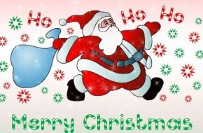 Feliz navidad en Ingles, Frases con Imagen