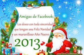 Frases de Navidad y Año Nuevo 2013 para Facebook