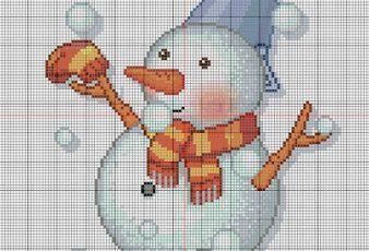 muñeco de nieve para navidad