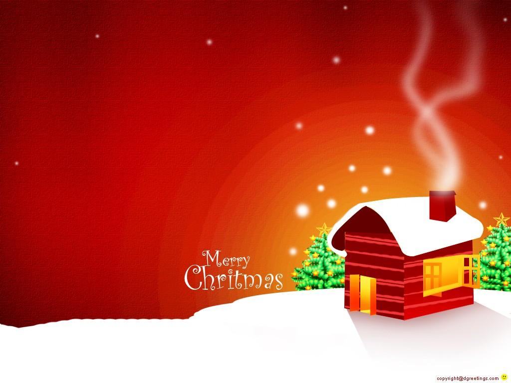 postales con paisajes de Navidad