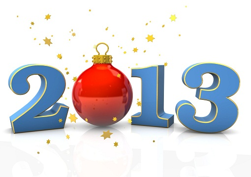 Postales de Año Nuevo 2013