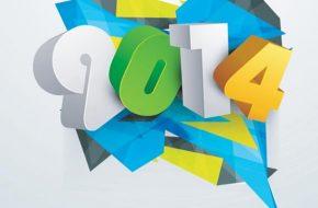 postales de inicio del año nuevo