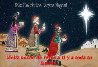 tarjetas de feliz dia de los reyes magos