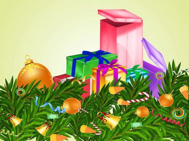 tarjetas de regalos de navidad